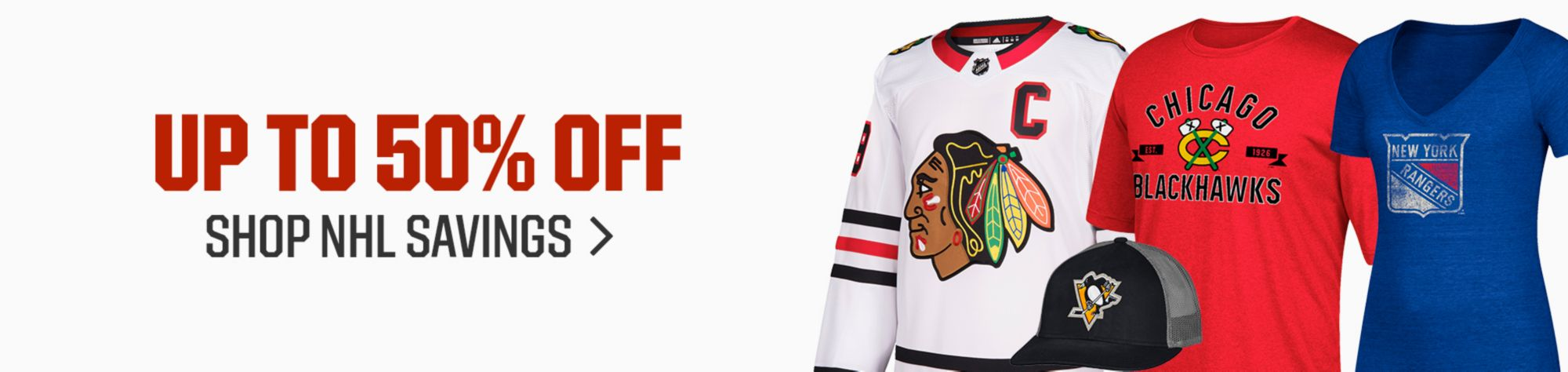 Up To 50% Off - Shop NHL Savings