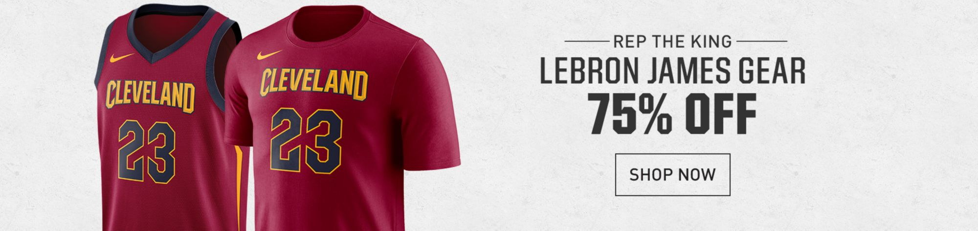 75% Off LeBron James Cavs Gear