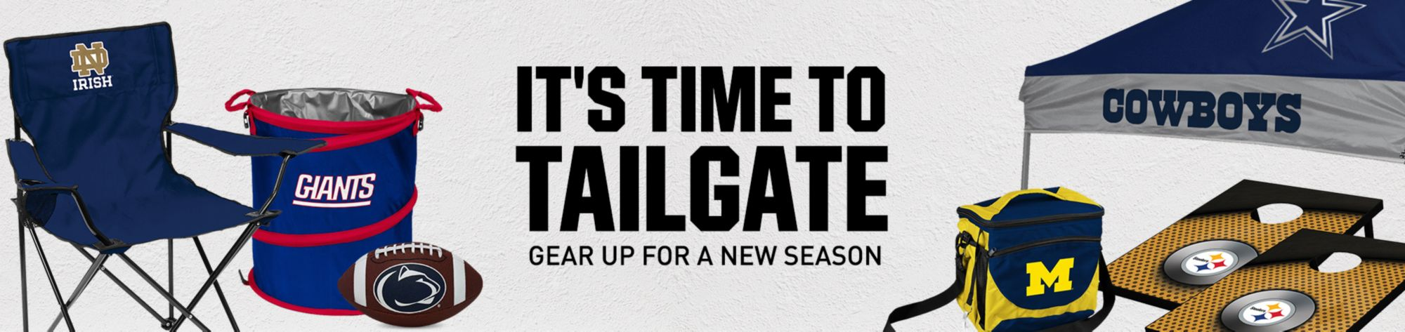 It's Time to Tailgate Gear Up For A New Season