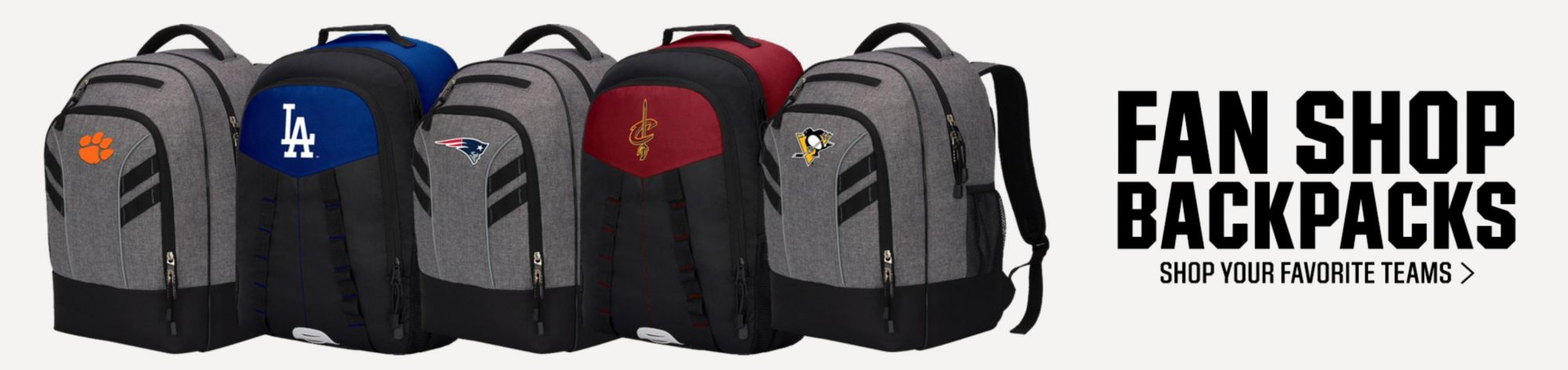 Fan Shop Backpacks Shop your favorite teams