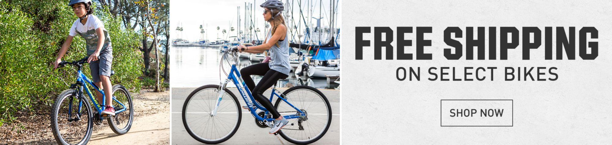 Free Shipping Select Bikes Shop Now