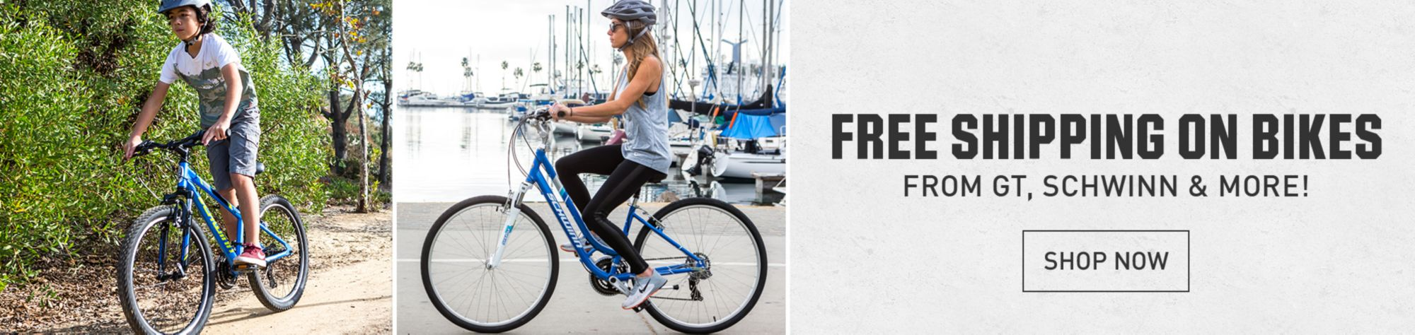 Free shipping on select bikes Shop now