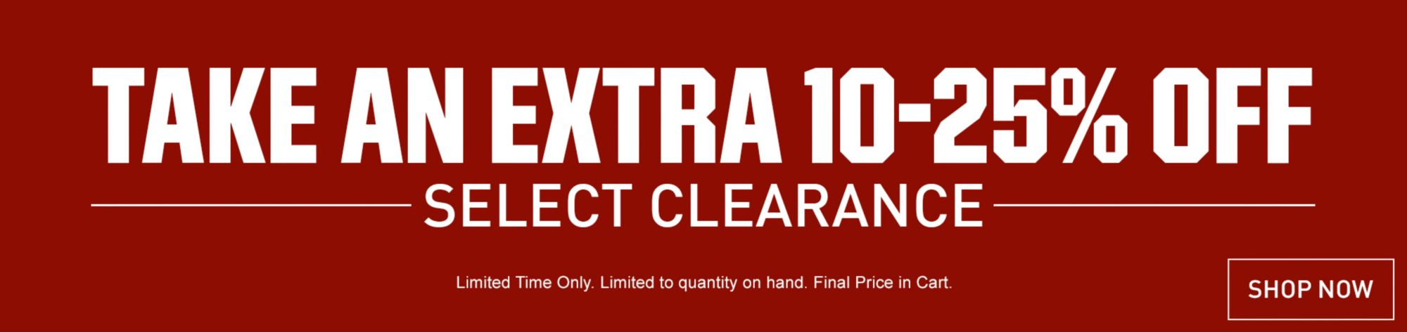 Shop Last Chance Clearance