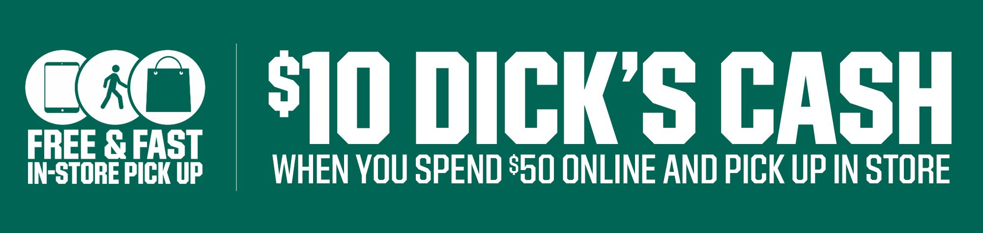 dicks cash
