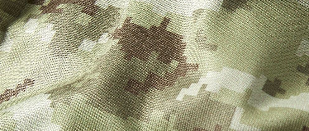 Salute To Service - Men's Pullover Hoodie Camouflage Material