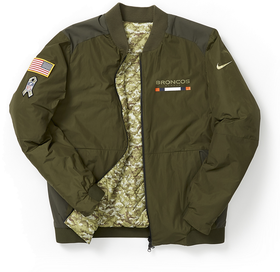 Salute To Service - Men s Reversible Bomber Jacket 10d8bd244