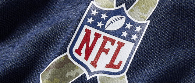 Salute To Service - NFL Ribbon Patch