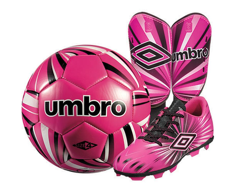 Umbro Youth Soccer Starter Kit - Pink