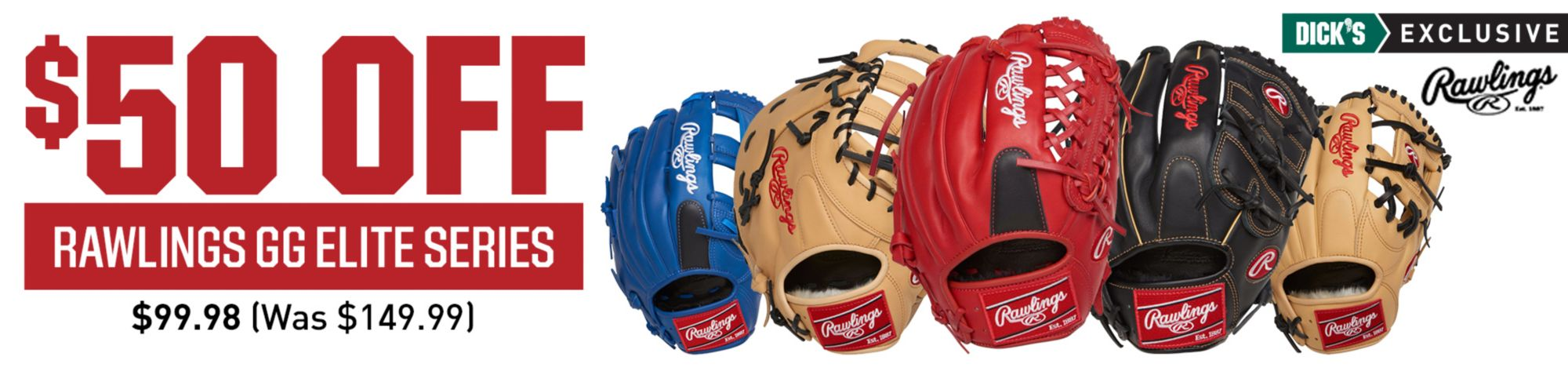 Shop Rawlings GG Elite Gloves
