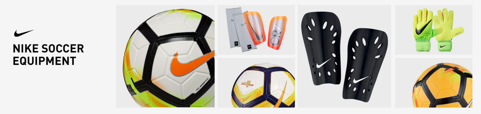 Nike Soccer Balls, Shins, & Gloves