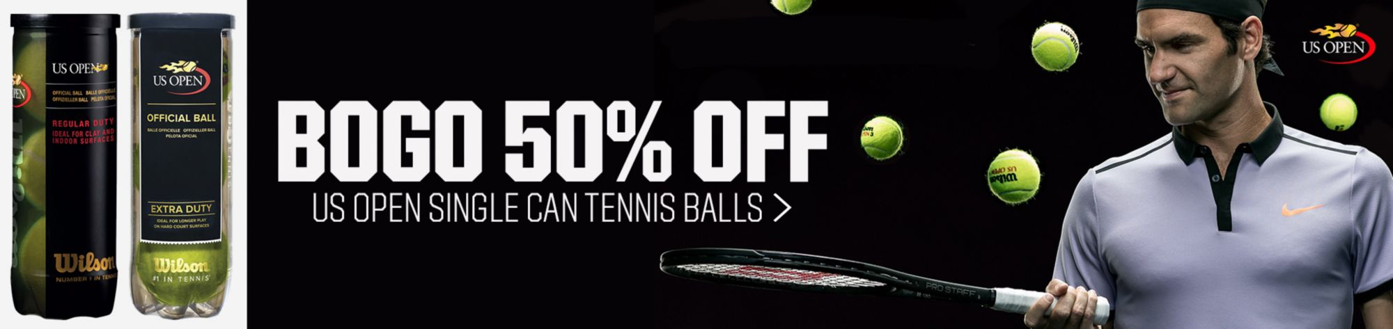 Wilson US Open Tennis Balls - 3 Ball PackProtection and Extended Service PlansYour Pickup LocationSale & Shipping RestrictionsSale & Shipping Restrictions