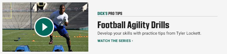 DICKS Pro Tips Football Agility Drills