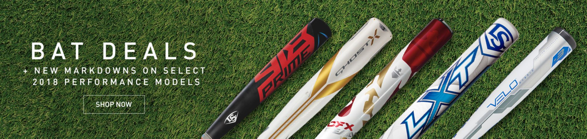 BAT DEALS + New Markdowns on Select 2018 Performance Models SHOP NOW