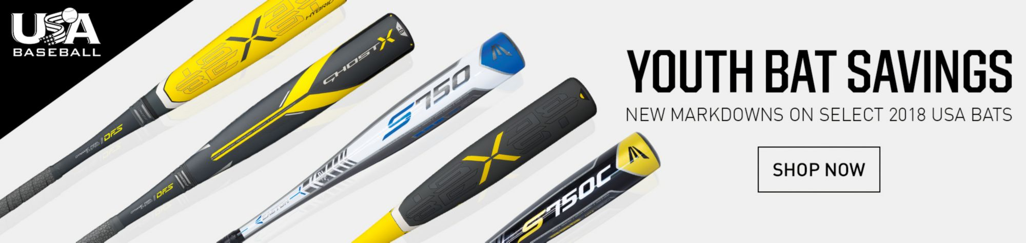 USA BAT SAVINGS! New Markdowns on Easton, Rawlings, Louisville Slugger & More Shop Bat Deals