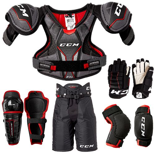 CCM Youth Jetspeed 5-Piece Hockey Package