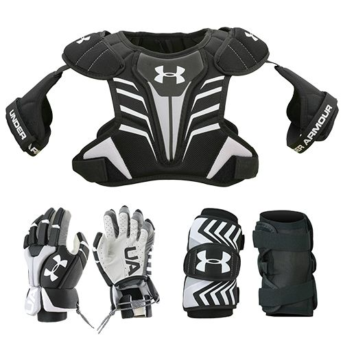 Under Armour Boys' 3-Piece Strategy Lacrosse Package