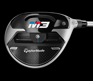 More personalization on the M3 Fairway due to a heavier, 29g movable weight