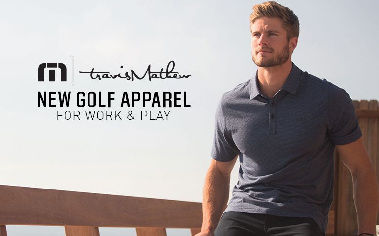 Travis Mathew New Golf Apparel For Work & Play