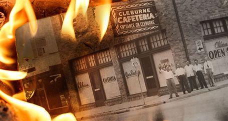Family restaurant business on fire