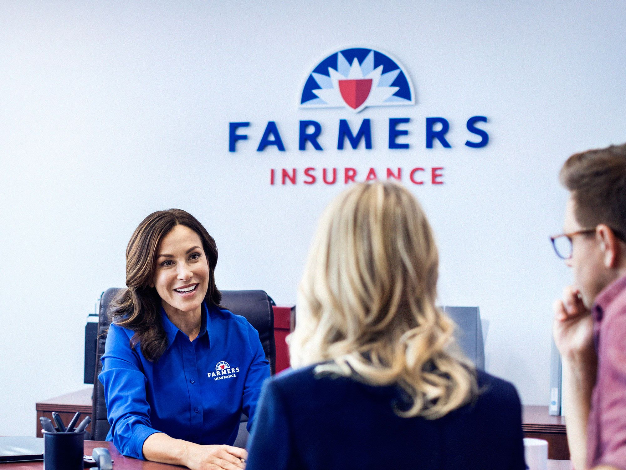 Woman Farmers Insurance Commercial Actress | See More...