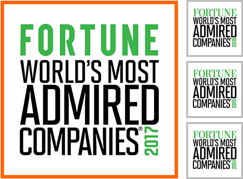 Fortune World's Most Admired 2017