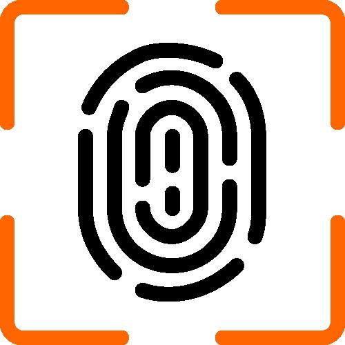 icon of thumbprint