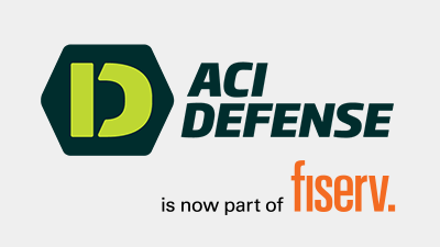 ACI Defense is now part of Fiserv