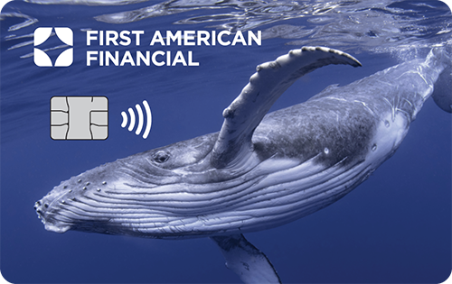 Recovered Ocean-Bound Plastic credit card picture