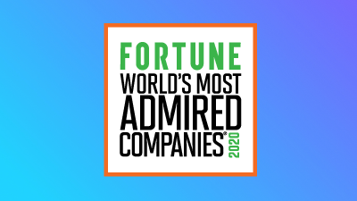FORTUNE World's Most Admired 2020