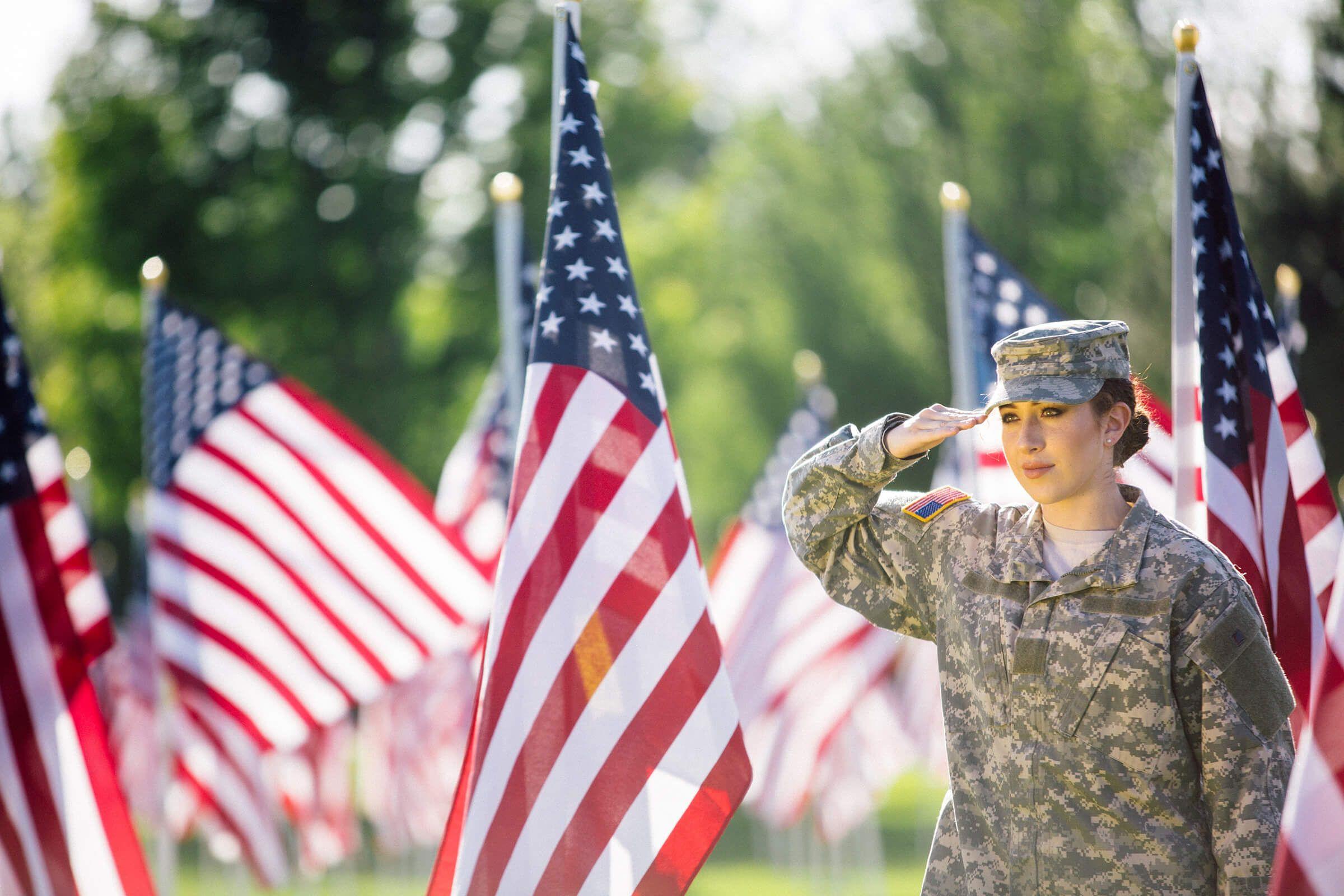 diversity-inclusion-soldier-salute-flag