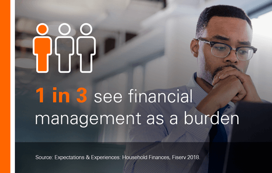 1 in 3 see financial management as a burden.