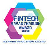 Fintech Breakthrough Award 2018