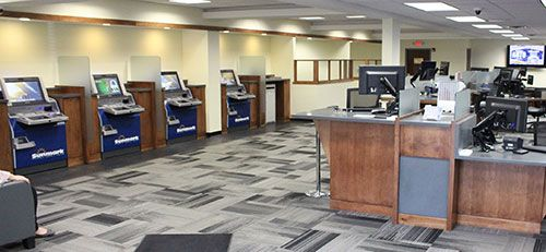 Sunmark interactive teller machine technology in credit union branch