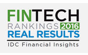2016 IDC FinTech Real Results Award for Customer Engagement
