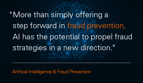 Artificial intelligence can help with fraud protection