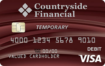 Temporary debit card