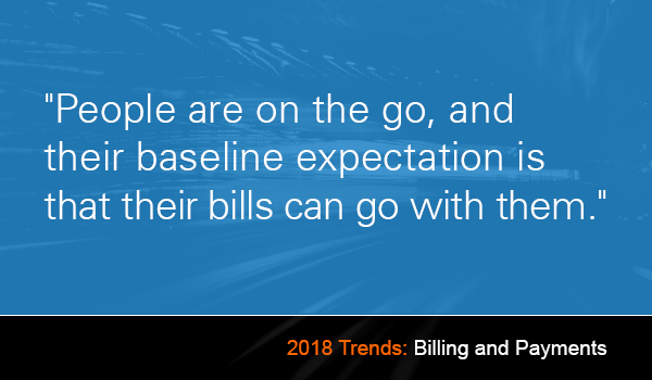 billing and payment trends in 2018.