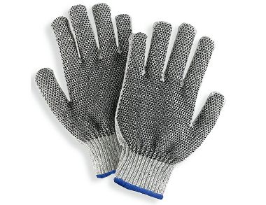 Dotted String Knit Gloves, Ladies' Heavyweight