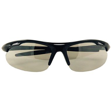 Slot Safety Glasses, Black Frame, Indoor-Outdoor Lens