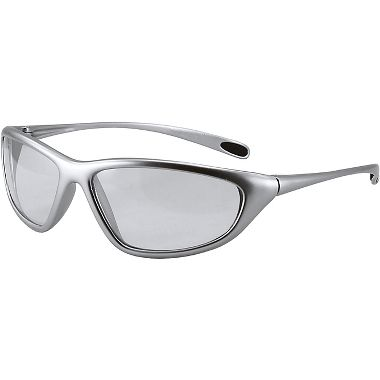 Spyder Safety Glasses, Silver Frame, Fog Free Clear Lens