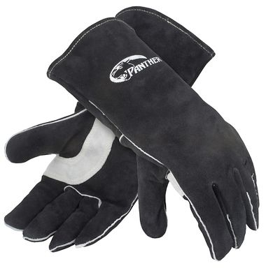 Panther™ Premium Leather Welders Gloves, 3 Pair/Pkg