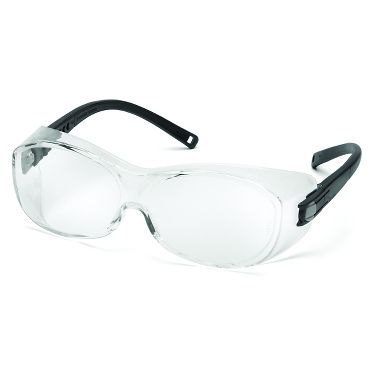 Pyramex OTS Over Rx Safety Glasses with Anti-Fog Clear Lens
