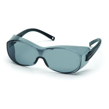Pyramex OTS Over Rx Safety Glasses with Gray Lens