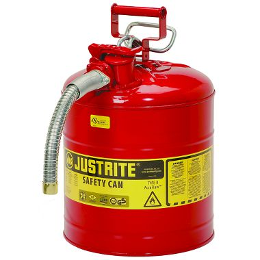 Justrite Type II AccuFlow™ Safety Can, 5 Gal