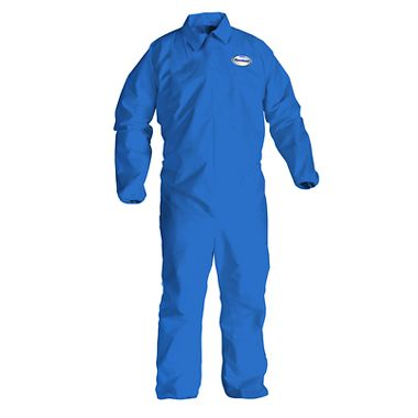 KC A65 Flame Resistant Disposable Coverall w/ Zipper Front, Open Wrists and Ankles