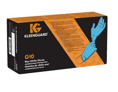 KleenGuard® G10 Blue Nitrile Gloves