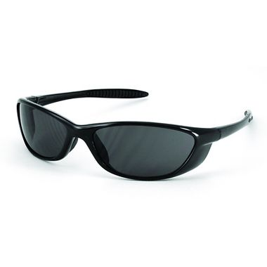 Spyder Sport Safety Glasses  Black Gloss Frame w/ Gray  Lens