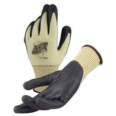 ATA® 505 Cut Resistant Gloves with Foam Nitrile Palm Coating, ANSI A4 Cut Level