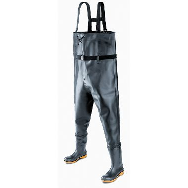 Dunlop® (Formally Onguard®) 86066 Chest Waders, Plain Toe