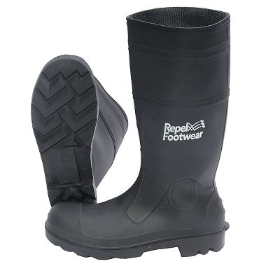 "Repel Footwear™ Economy 15"" PVC Boot with Steel Toe"